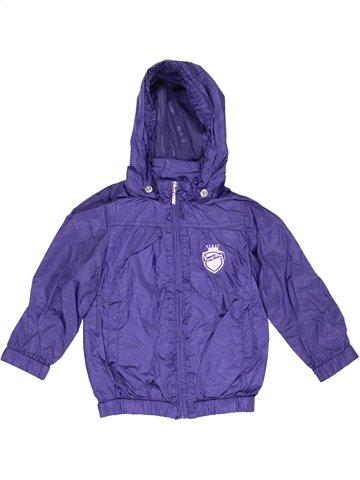 Anorak-Trinchera niña CHICCO violeta 2 años verano #1006452_1