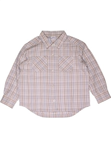 Camisa de manga larga niño TOUT COMPTE FAIT rosa 5 años invierno #1013412_1