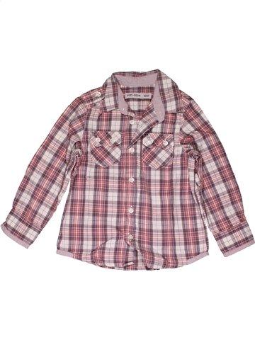 Chemise manches longues garçon YCC-214 violet 2 ans hiver #1013845_1