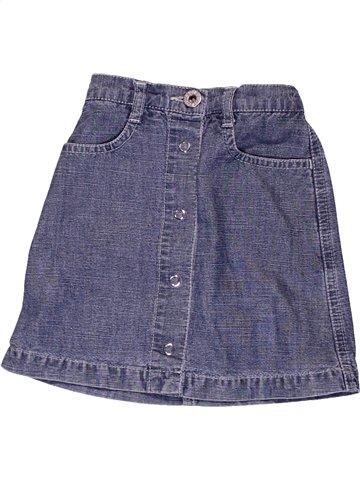 Falda niña PETIT BATEAU azul 2 años verano #1017509_1