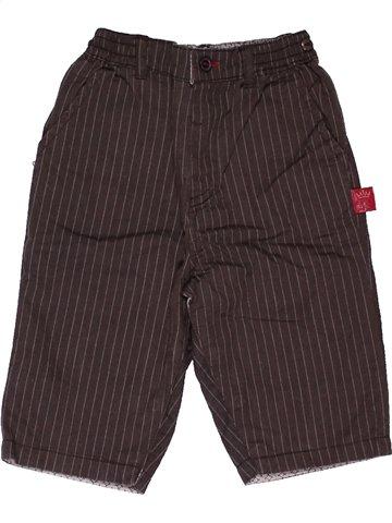 Pantalon garçon SERGENT MAJOR marron 6 mois hiver #1024759_1