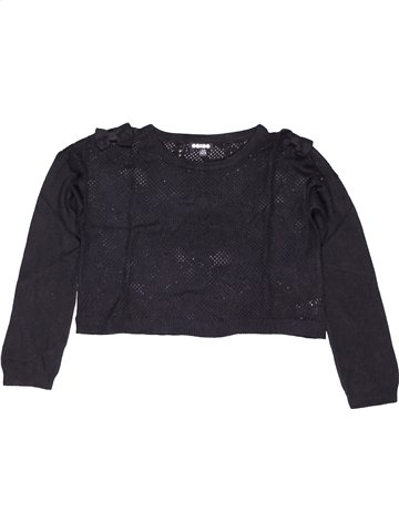 Pull fille OOXOO noir 12 ans hiver #1033084_1