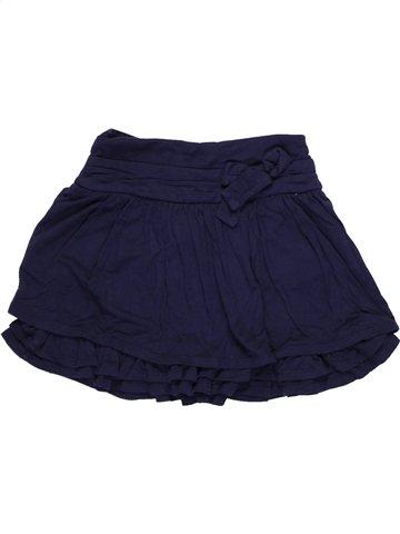 Jupe fille LILI GAUFRETTE bleu 2 ans hiver #1043624_1
