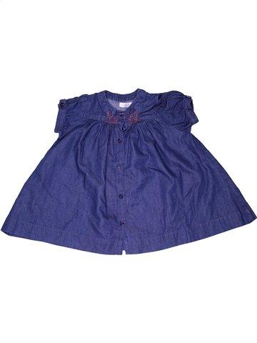 Robe fille DPAM violet 3 mois été #1065537_1