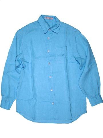 Camisa de manga larga niño CLAYEUX azul 10 años verano #1071394_1