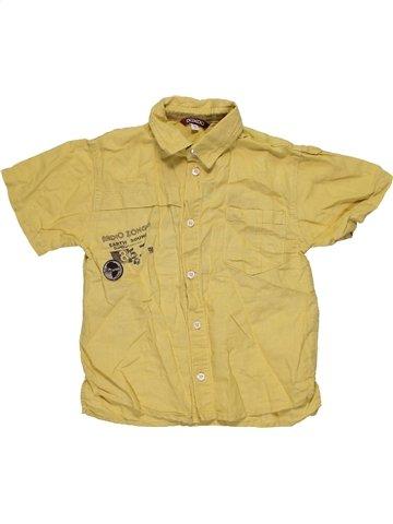 Chemise manches courtes garçon OOXOO vert 6 ans été #1081403_1
