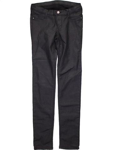 Pantalon fille TEDDY SMITH noir 14 ans hiver #1094180_1
