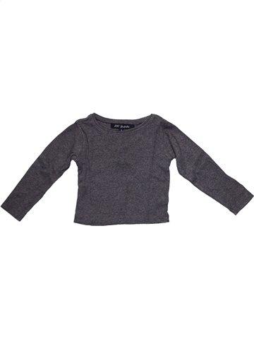 Camiseta de manga larga niña LILI GAUFRETTE gris 4 años invierno #1105904_1