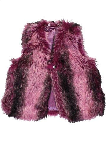 Gilet fille 3 POMMES violet 3 ans hiver #1113850_1