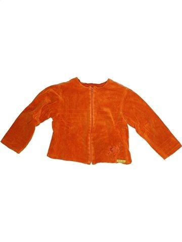 Gilet fille KENZO orange 8 ans hiver #1125539_1