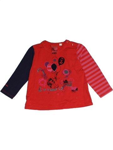 Camiseta de manga larga niña MARÈSE rojo 2 años invierno #1127062_1