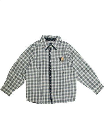 Chemise manches longues garçon YCC-214 gris 8 ans hiver #1132832_1
