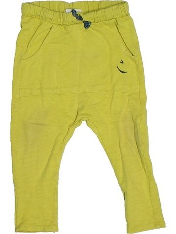 Pantalon garçon ZARA vert 6 mois hiver #1134084_1