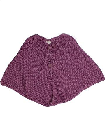 Cape fille GRAIN DE BLÉ violet 2 ans hiver #1135692_1