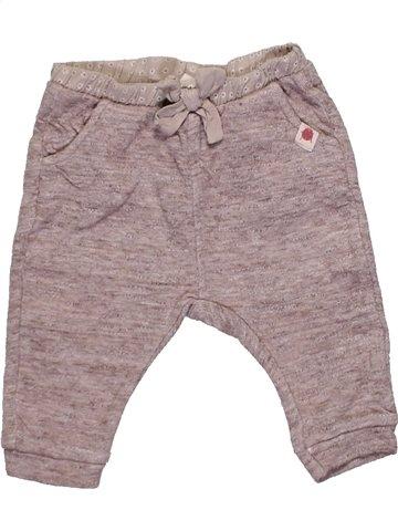 Pantalon fille ZARA gris 6 mois hiver #1145975_1