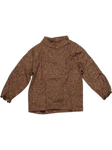 T-shirt manches longues fille TOUT COMPTE FAIT marron 2 ans hiver #1148882_1