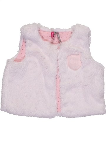 Gilet fille ORCHESTRA blanc 6 mois hiver #1158331_1