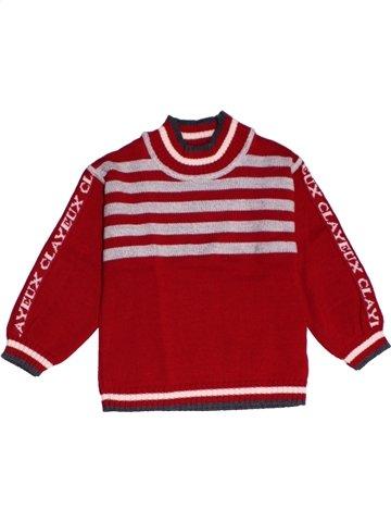 jersey niña CLAYEUX rojo 2 años invierno #1159301_1