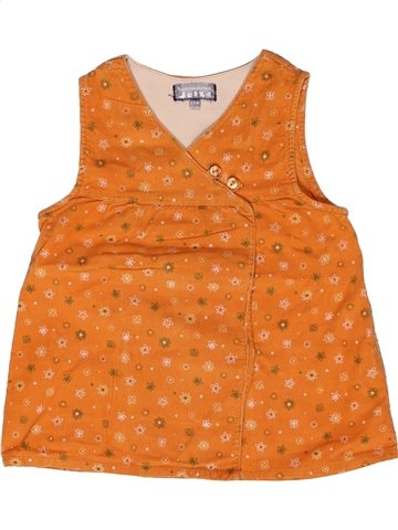 Vestido niña TOUT COMPTE FAIT naranja 2 años invierno #1160379_1