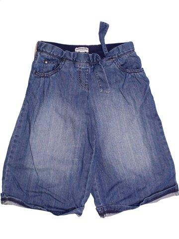 Falda-Pantalón niña VERTBAUDET azul 2 años invierno #1162796_1