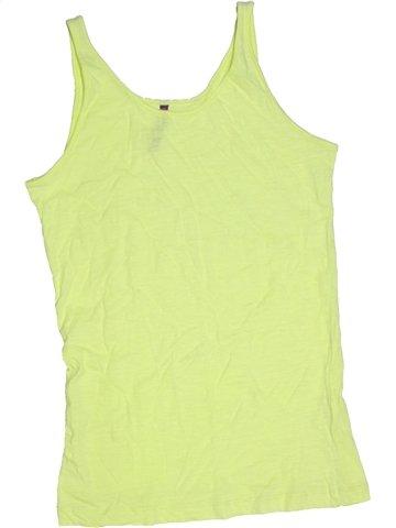 Camiseta sin mangas niña GEMO verde 14 años verano #1167325_1