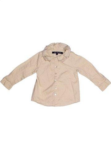 Blusa de manga larga niña LILI GAUFRETTE beige 2 años invierno #1168872_1