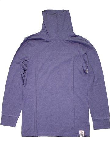T-shirt col roulé garçon KID'S GRAFFITI violet 12 ans hiver #1169084_1
