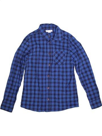Chemise manches longues garçon LH BY LA HALLE bleu 12 ans hiver #1172011_1