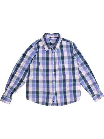 Chemise manches longues garçon TEX bleu 9 ans hiver #1174490_1