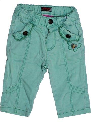 Pantalon fille CATIMINI bleu 6 mois hiver #1177598_1