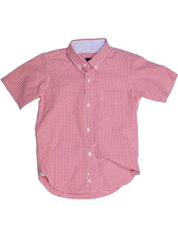 Chemise manches courtes garçon ACANTHE rose 8 ans été #1178236_1