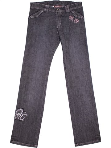 Jean fille OOXOO gris 12 ans hiver #1179671_1