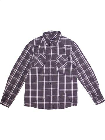 Chemise manches longues garçon LIBERTO bleu 10 ans hiver #1179900_1
