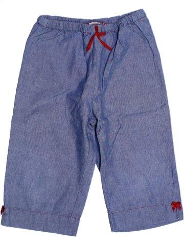 Pantalón corto niña FLORIANE azul 5 años verano #1180305_1