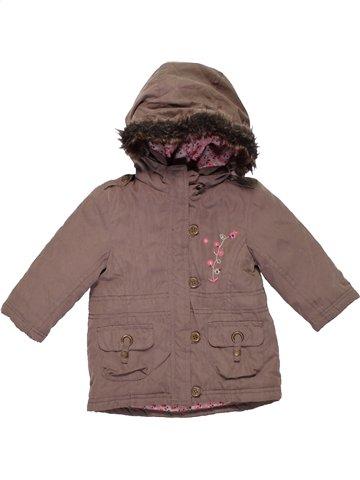 Manteau fille CADET ROUSSELLE marron 6 mois hiver #1180695_1