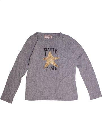 T-shirt manches longues fille KID'S GRAFFITI gris 10 ans hiver #1181713_1