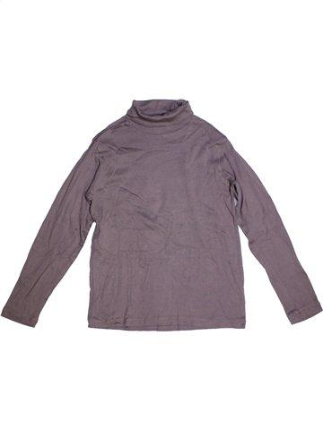 T-shirt col roulé garçon TEX violet 12 ans hiver #1182252_1