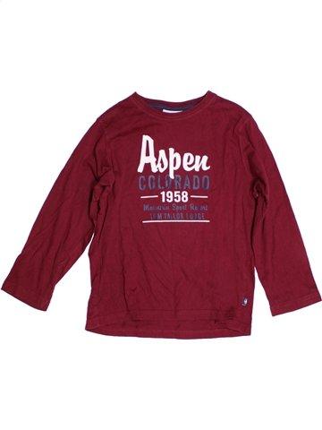 T-shirt manches longues garçon TOM TAILOR rouge 9 ans hiver #1183541_1