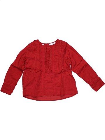 Blusa de manga larga niña MARÈSE rojo 4 años invierno #1186533_1