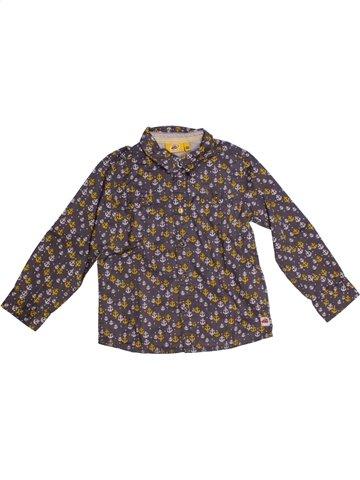 Chemise manches longues garçon JBC gris 4 ans hiver #1187275_1