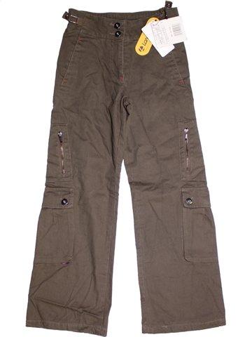 Pantalon fille LONGBOARD marron 10 ans hiver #1188686_1