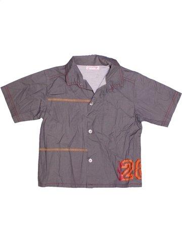 Camisa de manga corta niño SUCRE D'ORGE violeta 4 años verano #1189513_1
