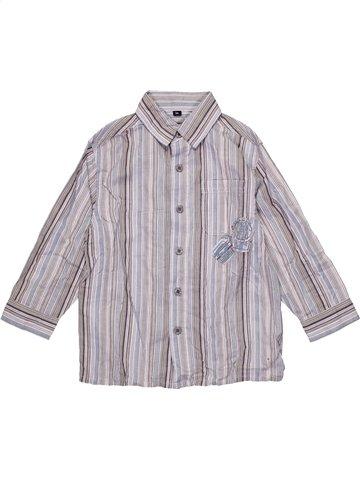 Chemise manches longues garçon LH BY LA HALLE gris 3 ans hiver #1191073_1