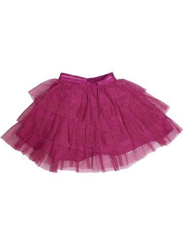 Falda niña VERTBAUDET violeta 3 años verano #1191643_1
