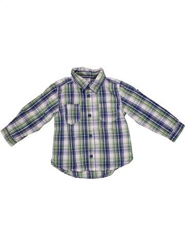 Chemise manches longues garçon KIMBALOO gris 2 ans hiver #1192049_1
