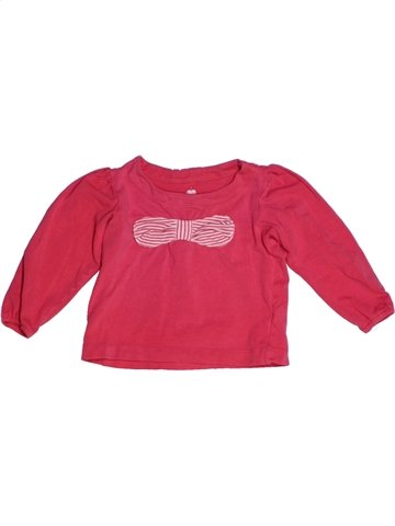 T-shirt manches longues fille LISA ROSE rose 2 ans hiver #1193850_1