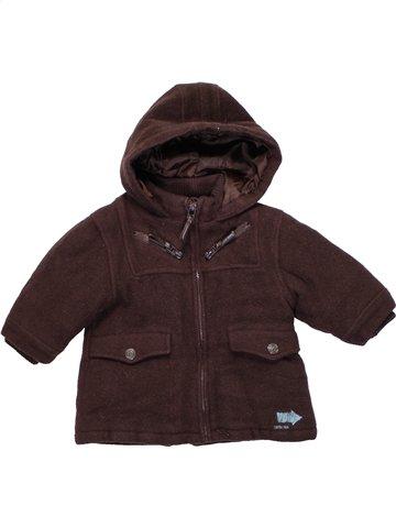 Abrigo niño KIABI marrón 6 meses invierno #1194676_1