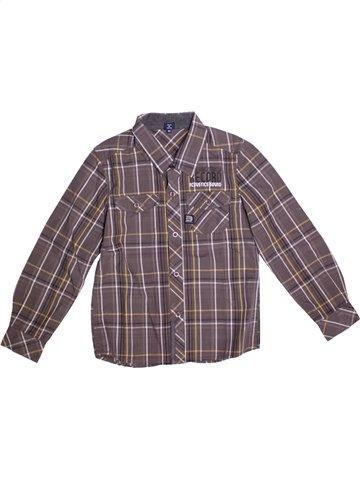 Camisa de manga larga niño TERRE DE MARINS gris 9 años invierno #1196498_1