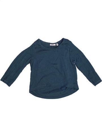 T-shirt manches longues fille MEXX bleu 2 ans hiver #1196612_1