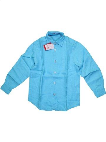 Camisa de manga larga niño CLAYEUX azul 6 años verano #1199527_1